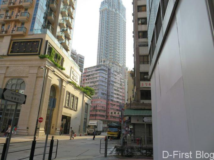 香港の街並みを見ることができます