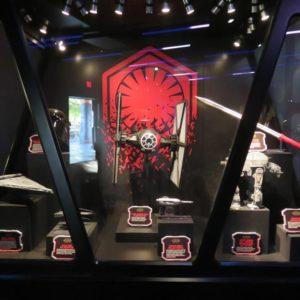 帝国軍の展示物