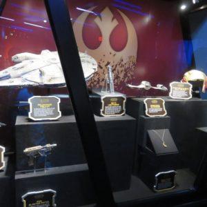 反乱軍の展示物