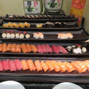 お寿司の種類も豊富